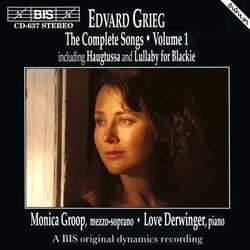 Grieg - The Complete Songs, Vol.1