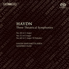 Haydn – Three Theatrical Symphonies