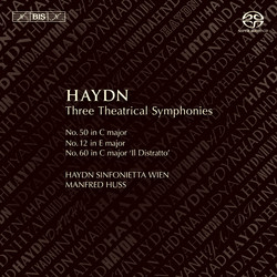 Haydn – Three Theatrical Symphonies