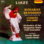 Liszt: Hungarian Rhapsodies Nos. 2, 13-15 and 19