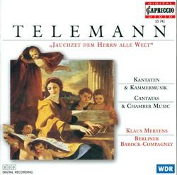 Telemann, G.P.: Cantatas / Chamber Music