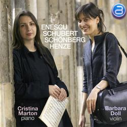 Enescu - Schubert - Schoenberg - Henze