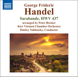 Handel: Keyboard Suite in D Minor, HWV 437: III. Sarabande (Arr. P. Breiner for Orchestra)