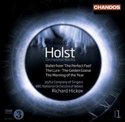 Holst: Orchestral Works, Vol. 1