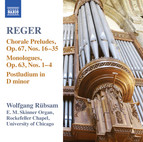 Reger: Organ Works, Vol. 15
