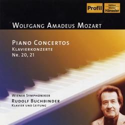 Mozart: Piano Concerto Nos. 20-21