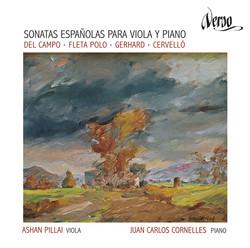 Sonatas Españolas para viola y piano: Del Campo, Fleta Polo, Gerhard & Cervelló