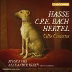Hasse, C.P.E. Bach & Hertel: Cello Concertos