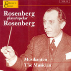 Rosenberg Plays Rosenberg (The Musician)