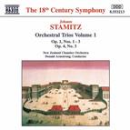 Stamitz, J.: Orchestral Trios Nos. 1 - 3, Op. 1 and No. 3, Op. 4