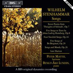 Stenhammar - Songs