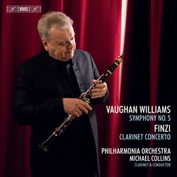 Michael Collins plays and conducts Vaughan Williams and Finzi