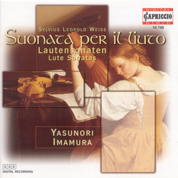 Weiss, S.L.: Lute Sonatas Nos. 39,