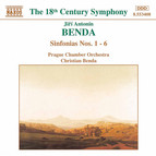 Benda, J. A.: Sinfonias Nos. 1-6