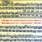 C.P.E. Bach - Keyboard Concertos, Vol.12