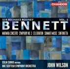 Bennett: Orchestral Works, Vol 1