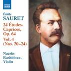 Sauret: 24 Études-caprices, Vol. 4