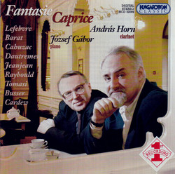 Lefebvre: Fantasie-Caprice / Cahuzac: Arlequin / Cardew: Scherzo