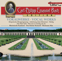 C.P.E. Bach: Vocal Works