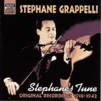 Grappelli, Stephane: Stephane's Tune (1938-1942)