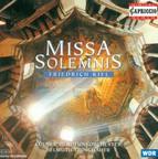 Kiel, F.: Missa Solemnis, Op. 40 / Ouverture A Grand Orchestre