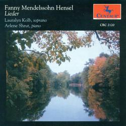 Mendelssohn, Fanny: Lieder