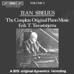Sibelius - Complete Original Piano Music, Vol.5