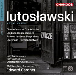 Lutoslawski: Vocal works