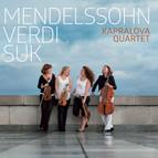 Mendelssohn, Verdi & Suk: Works for String Quartet