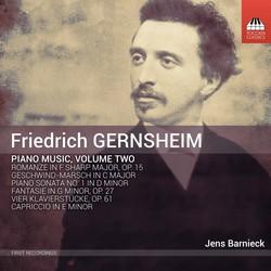 Gernsheim: Piano Music, Vol. 2