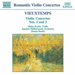 Vieuxtemps: Violin Concertos Nos. 2 and 3