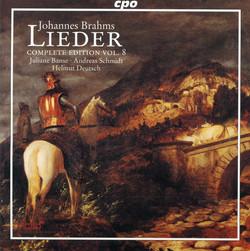 Brahms: Lieder (Complete Edition, Vol. 8)