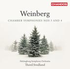 Weinberg: Chamber Symphonies Nos. 3 & 4