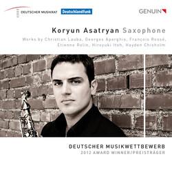 Koryun Asatryan: Saxophone