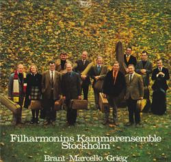 Brant: Sinfonia - Marcello: Konsert - Grieg: Fra Holbergs tid
