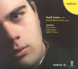 Violin Recital: Ivanov, Yossif - Franck, C. / Ysaÿe, E. / D'Haene, R.