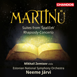 Martinů: Špalíček Suites Nos. 1 & 2 and Rhapsody-Concerto, H. 337