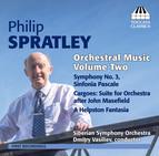 Spratley: Orchestral Music, Vol. 2
