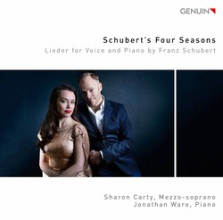 Schubert's Four Seasons: Lieder for Voice & Piano by Franz Schubert