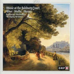 Music at the Salzburg Court