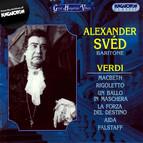 Sved, Alexander: Verdi Baritone Arias and Scenes