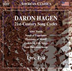 Daron Hagen: 21st-Century Song Cycles