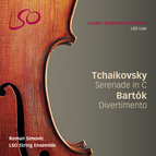Tchaikovsky: Serenade for Strings in C - Bartók: Divertimento