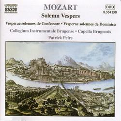 Mozart: Solemn Vespers