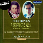 Beethoven: Symphonies Nos. 1 and 2 / Coriolan Overture