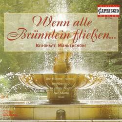 Choral Music (Male Choir) - Lyra, J.W. / Loewe, C. / Beethoven, L. Van / Silcher, F. / Alfven, H. / Schubert, F. / Grieg, E. / Schumann, R.