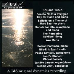 Tubin - Chamber Music