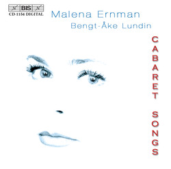 Cabaret Songs with Malena Ernman