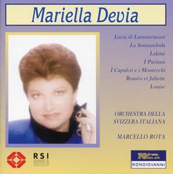 Devia, Mariella: Arie da Opere