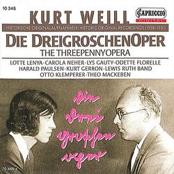 Weill: Die Dreigroschenoper (1928-1931)